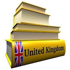 Books yellow stacked UK