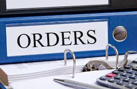 Orders file and calculator