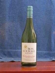 Bon Courage Gooseberry Bush Sauvignon Blanc 2015 A